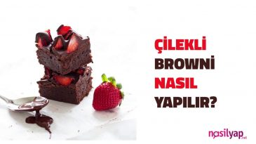 çilekli Brownie